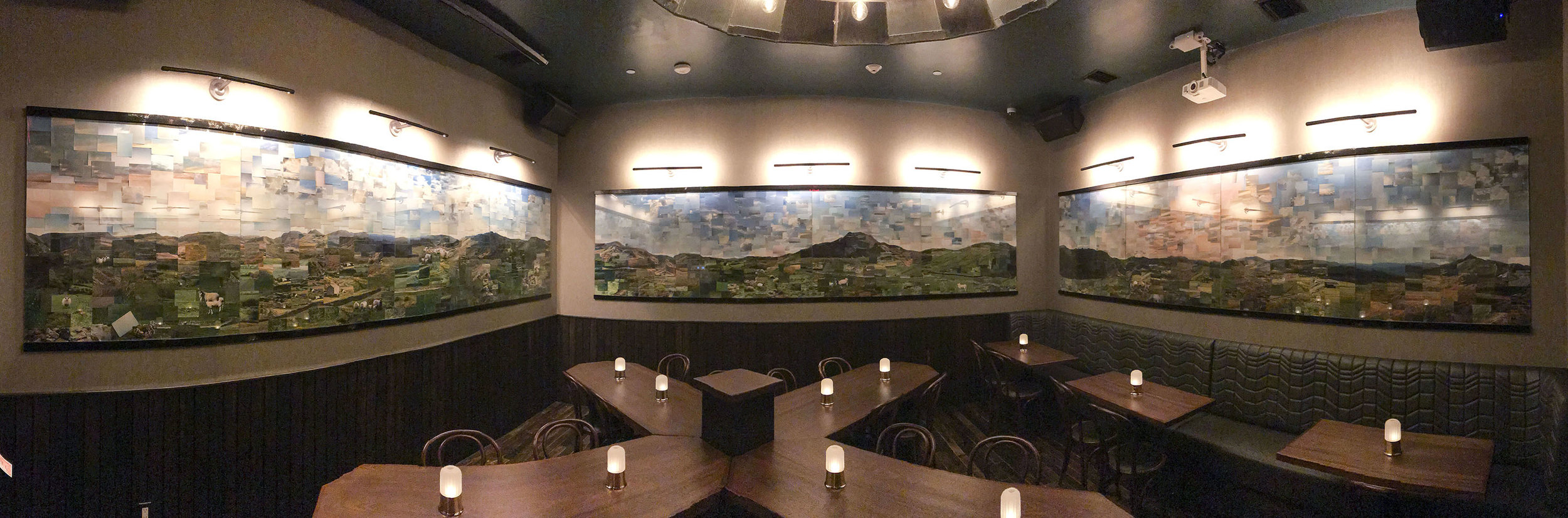 Interior Panoramic of Fine & Rare Bar and Restaurant shot with an iPhone 7 plus