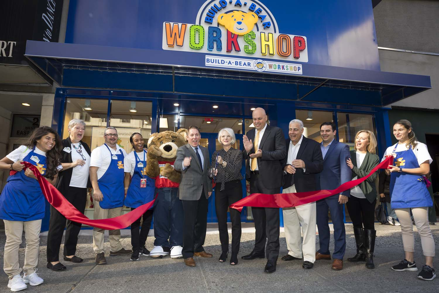 Build-A-Bear Opening