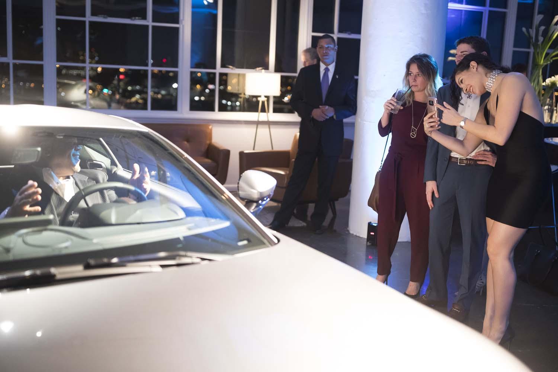 New York City Event Photographer Aston Martin Car Launch
