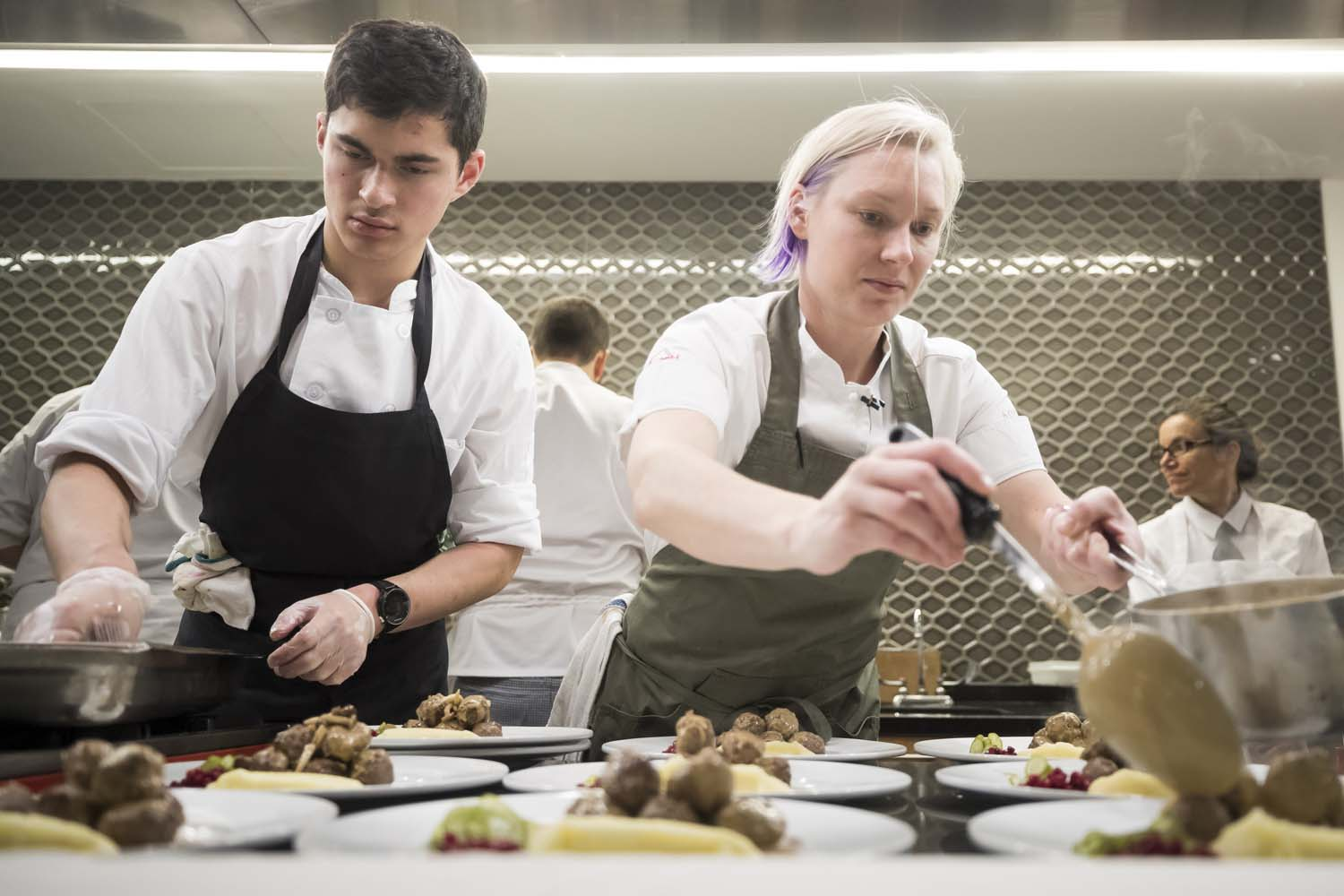 City Harvest Dinner with Chef Emma Bengtsson at ICE