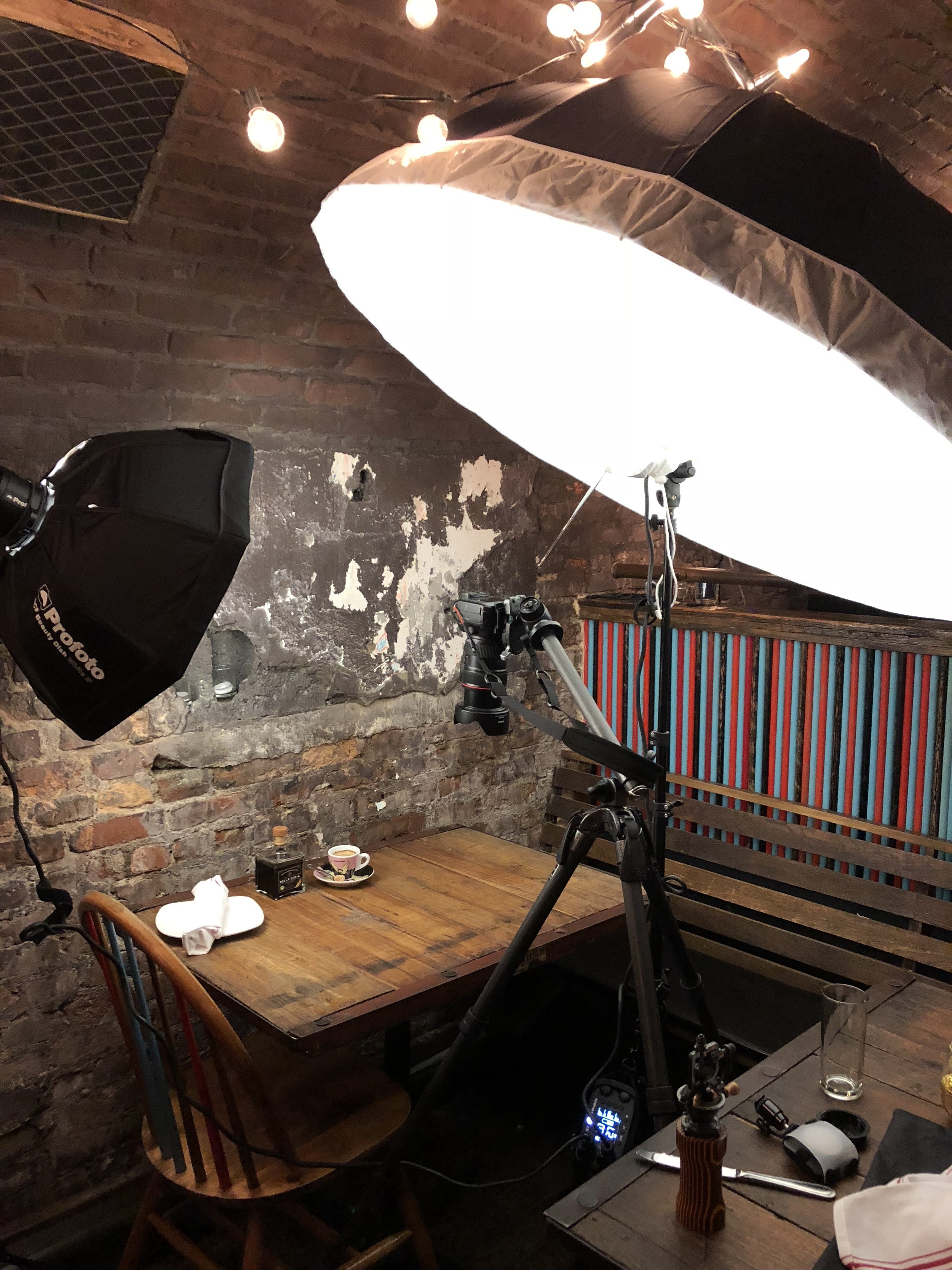 Food Photographer Lighting Setup Profoto