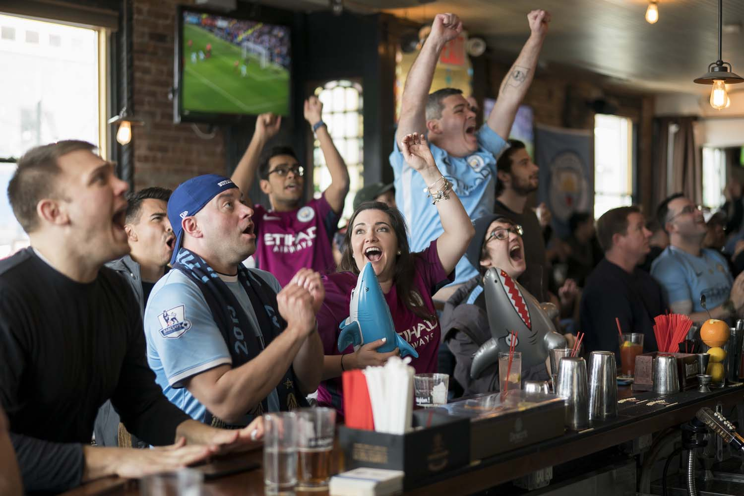 Manchester City Viewing Party