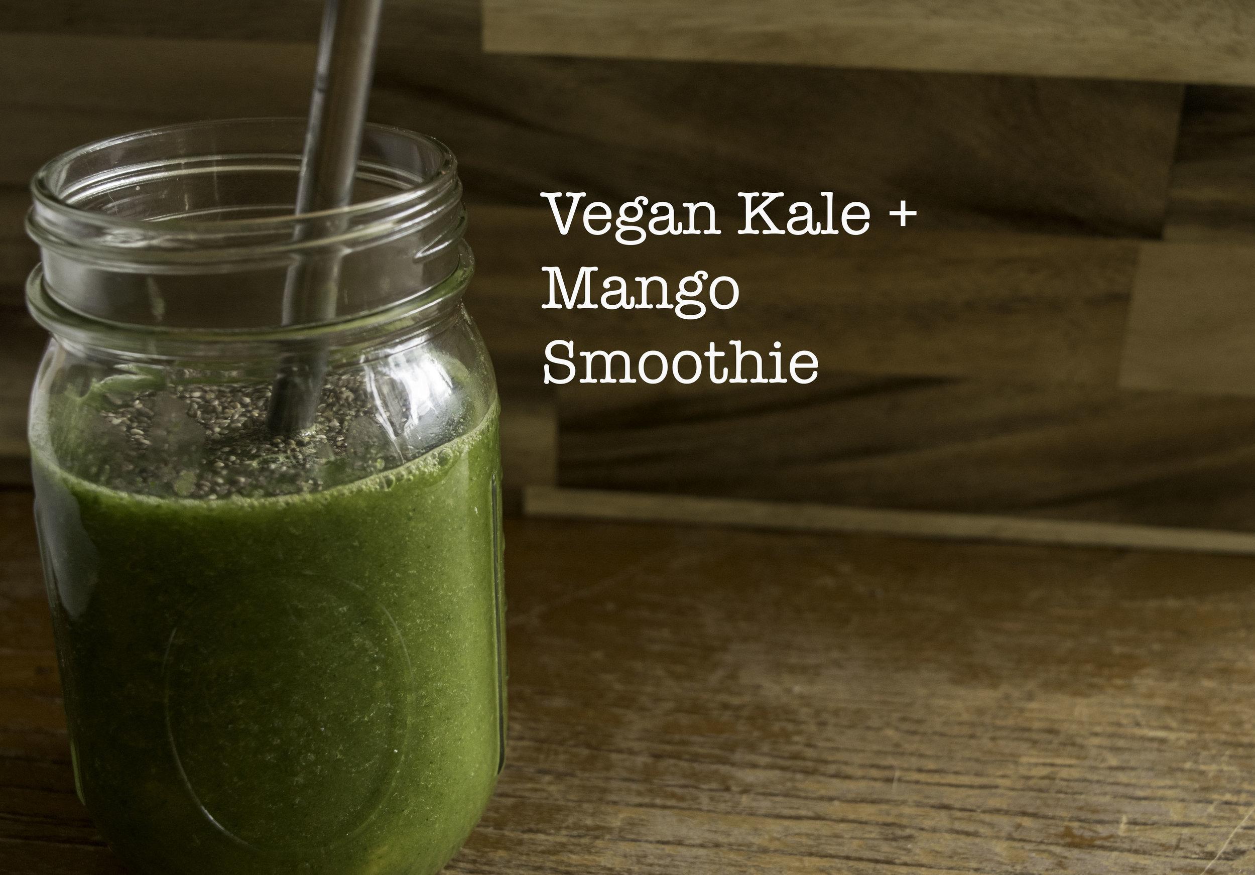 Kale + Mango Smoothie   The Savour