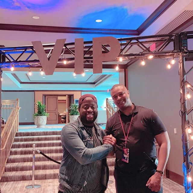 Reconnected with @kallmexav and met new people!  Wattup @keshiafromcali ! Also shout out to @i.ambrose_ for putting in work as a fellow volunteer! The BYOB Retreat ATL Edition was a great time.  I was only in the house for one day but it was an incredible experience!