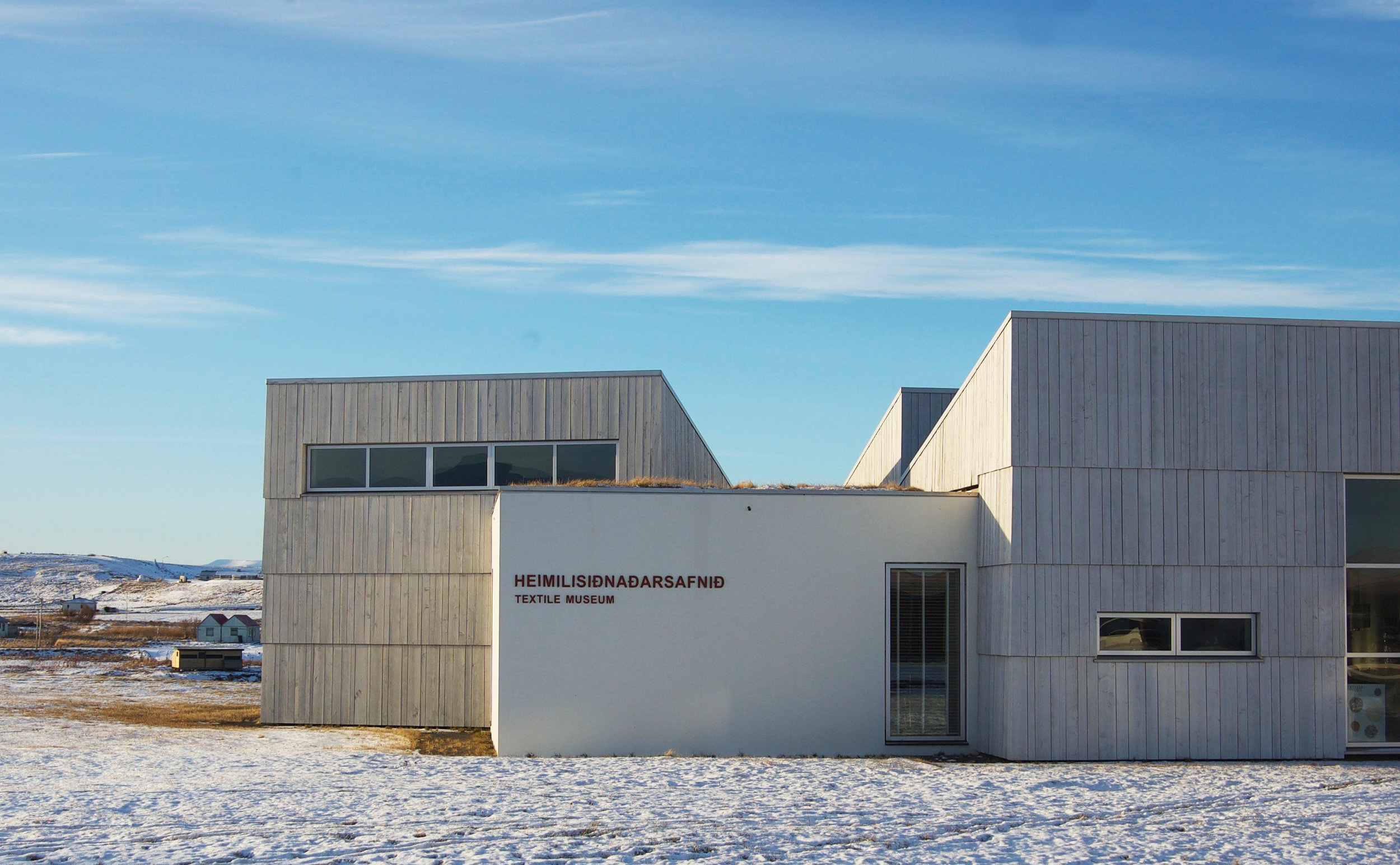 The Textile Museum, located directly next door to the Textile Centre, is the only such museum in Iceland - Blönduós, Iceland.