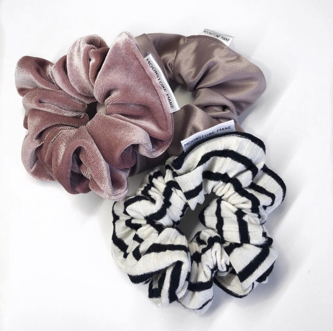 Scrunchies - This is something new for the holiday season! We are very excited to announce that we have partnered up with Moonstone Mane and will have their scrunchies in the studio in under two weeks! Moonstone Mane is an Edmonton-based company that started up in August 2018. We are so excited to have their scrunchies in our studio soon- these will come in all sorts of colours, patterns, and fabrics to pretty up your top knot! There will always be different designs coming out as they locally source all of their materials they use. Support local this year with this perfect stocking stuffer!