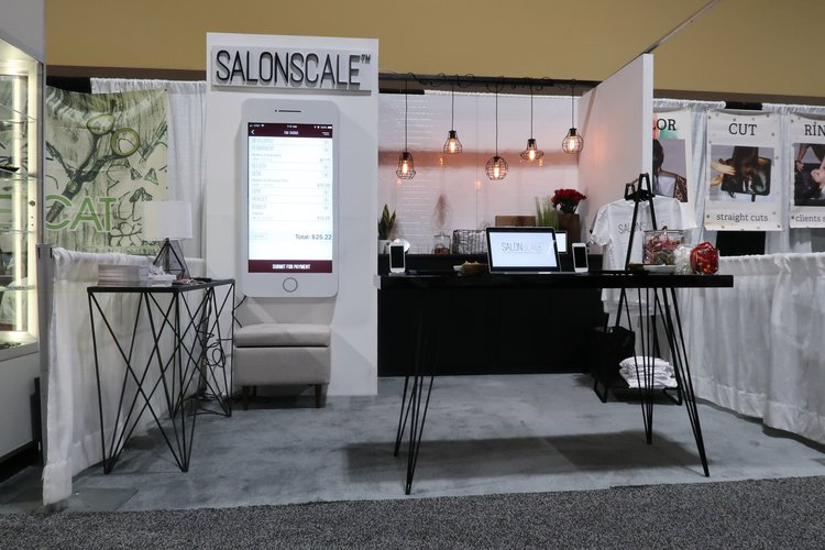 Picture:  https://salonscale.com/blog/2019/2/14/salonscale-goes-to-isse-long-beach   Quote:  https://salonscale.com/blog/puttingsalonscaleonthemap