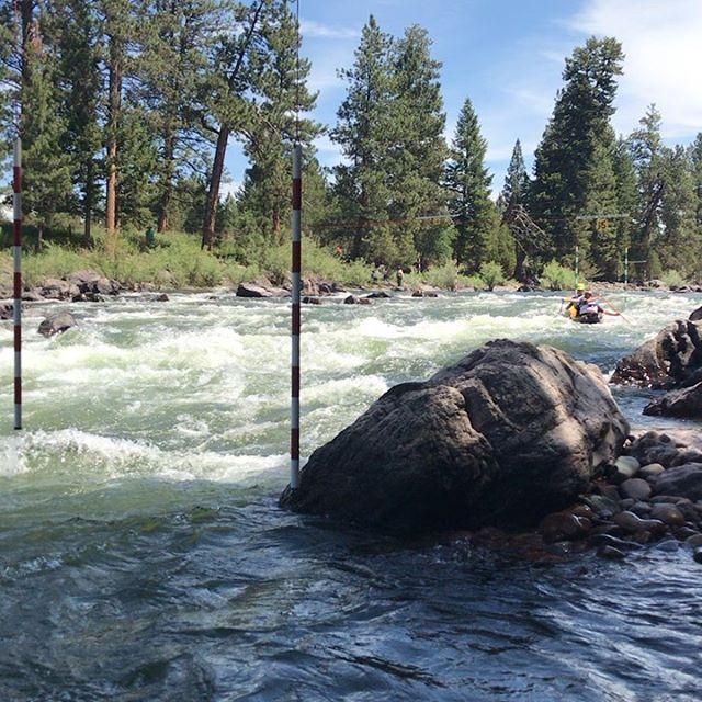 Another Blackfoot Challenge River race is in the books. Congratulations to Chet and Jeff for winning  the OC2 . #mtcanoes  #blackfootriver  #compositecanoes  #whitewatercanoeing  #canoe  #canoeslalom  #oc1  #oc2 # #montana #handmade  #madeinmontana  #weliketodothecanoe