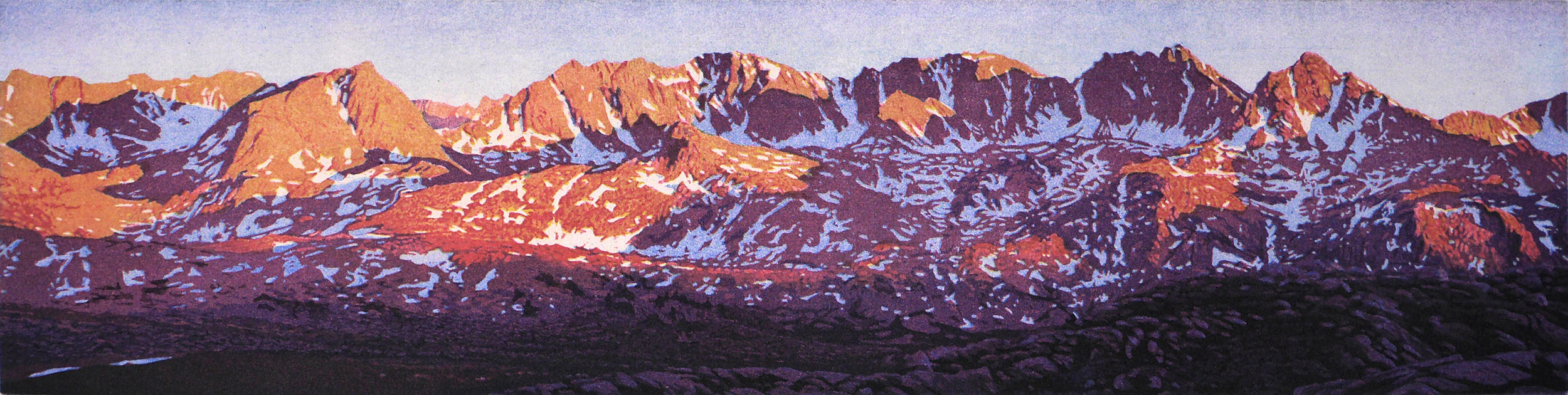 Glacier Divide