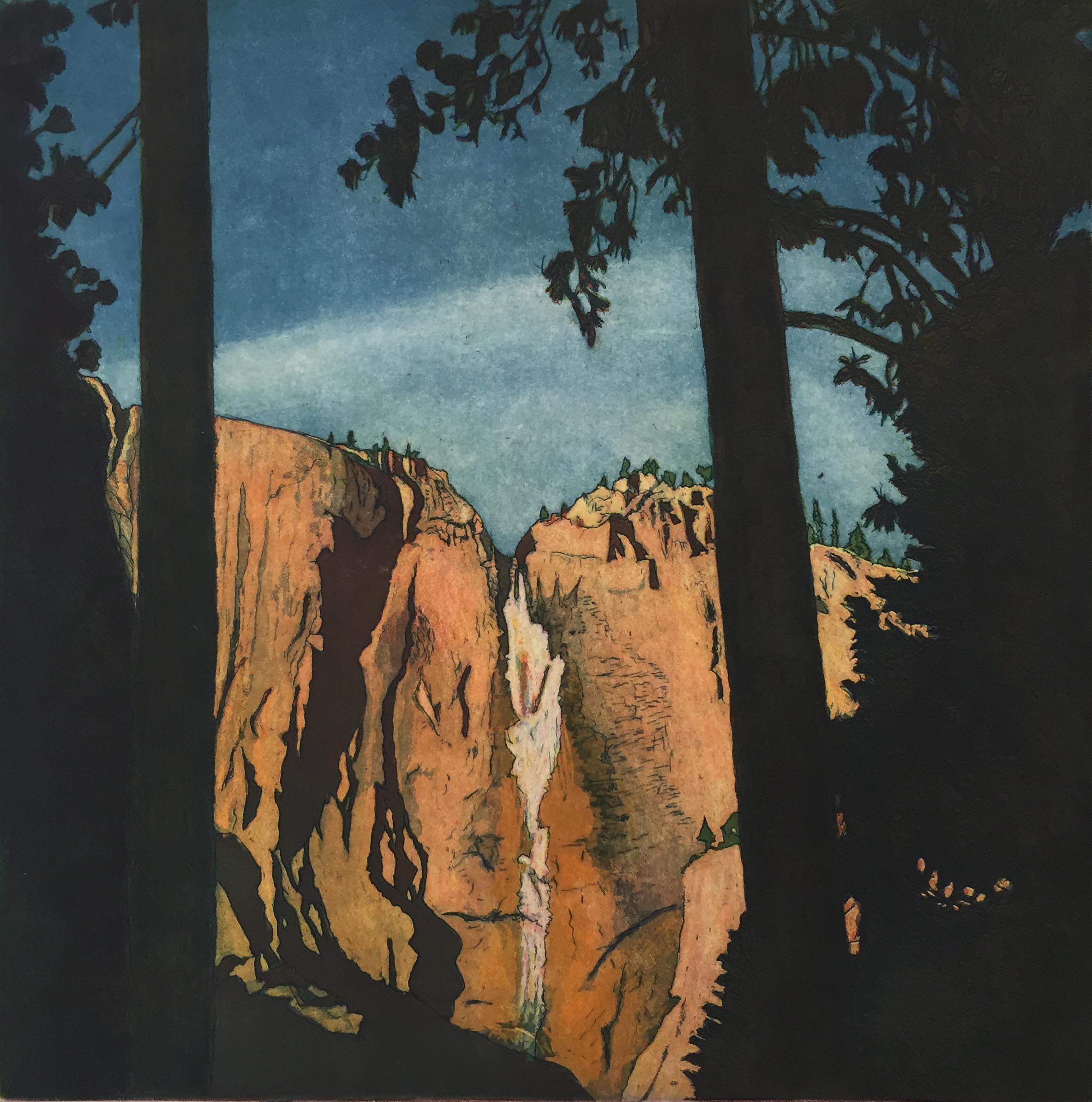 World Views VII: Winter Waterfall - Yosemite