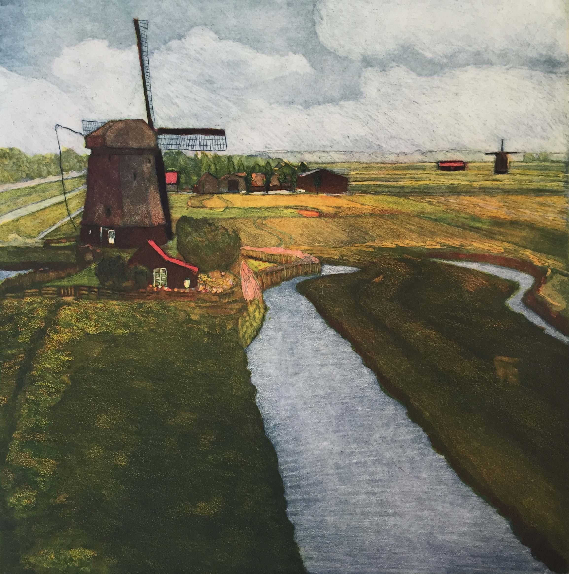 World Views V: Dutch Windmills