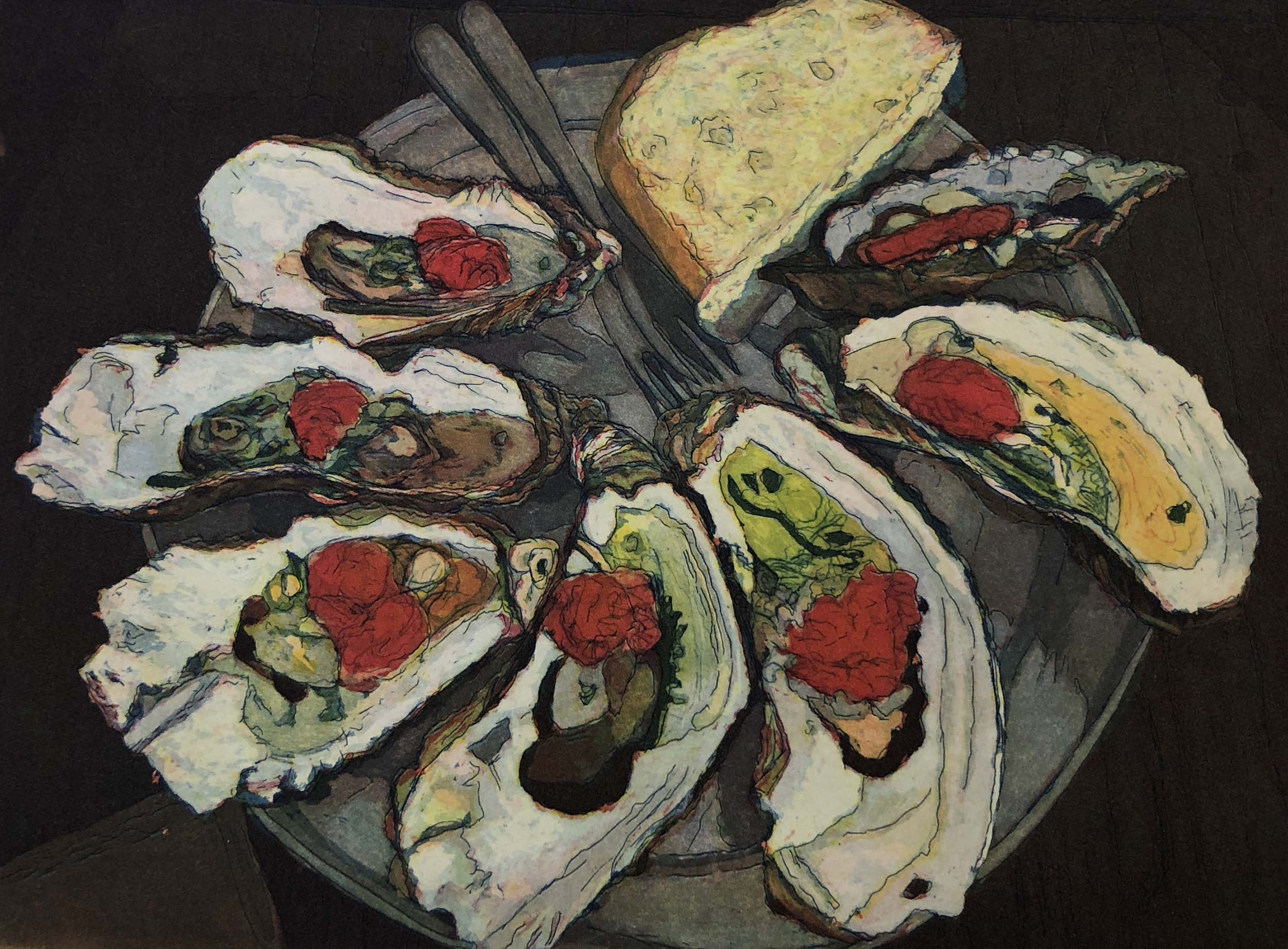 Bright Moments II: Oysters