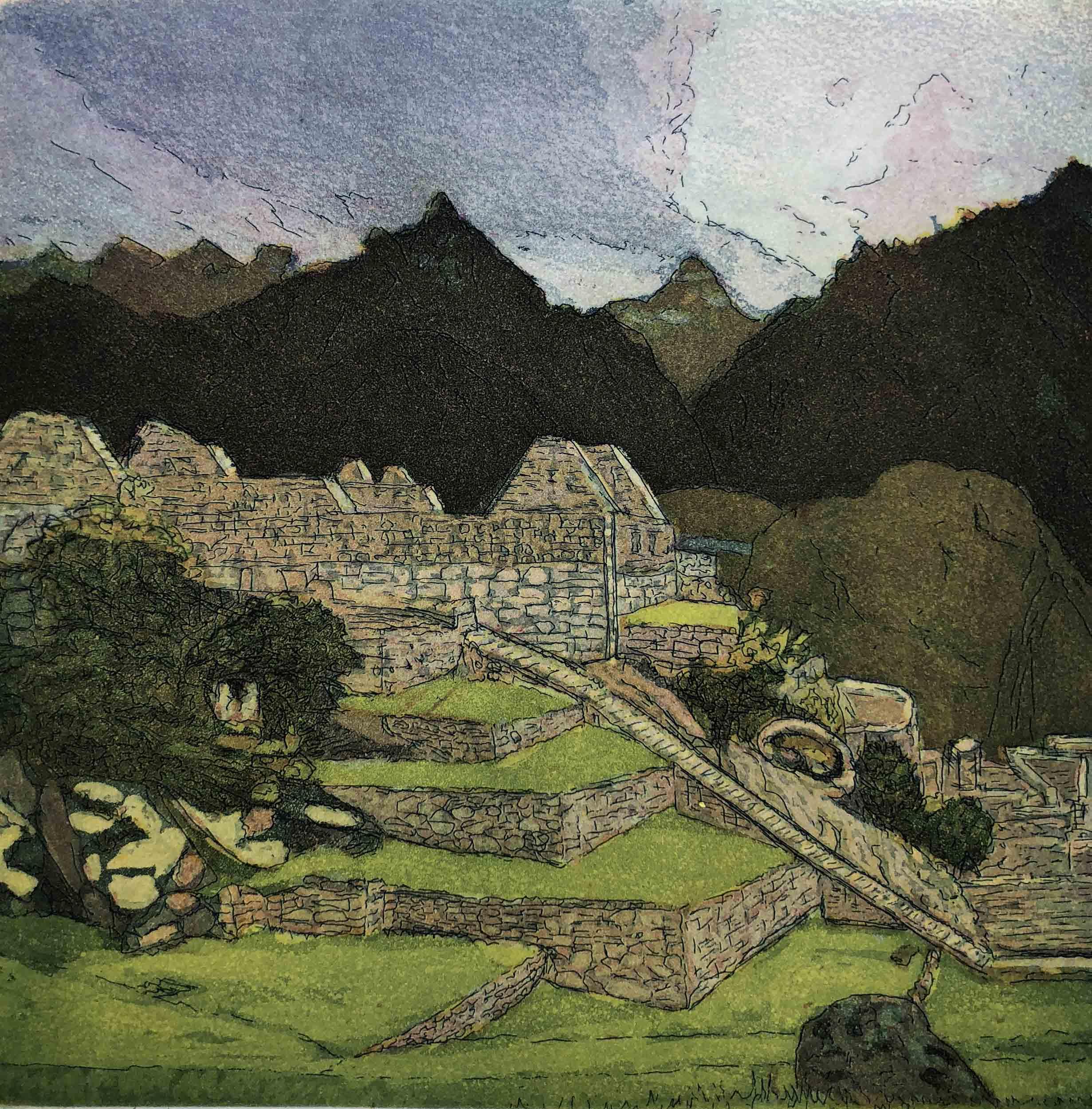 #7 In Peru @Machu Picchu