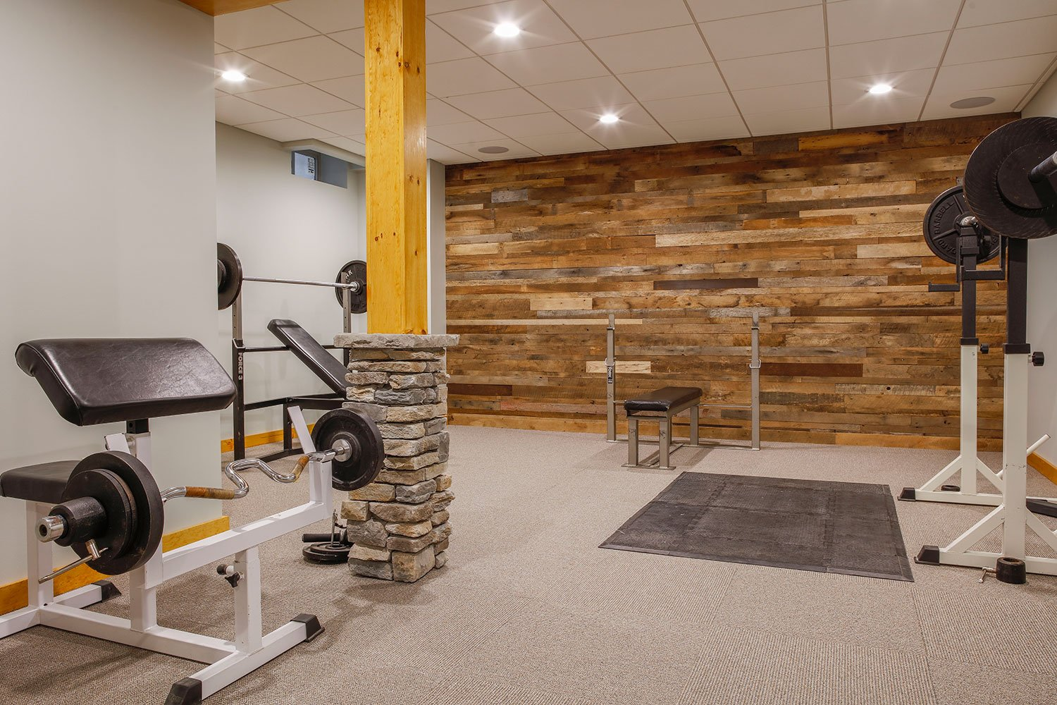 Home gym - yoga? cardio? lifting? It's all possible!
