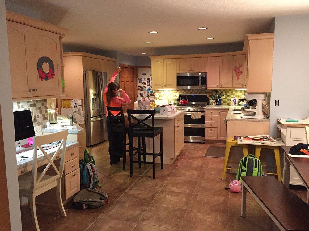 Modern Updated kitchen — Bright Ideas by Martinec