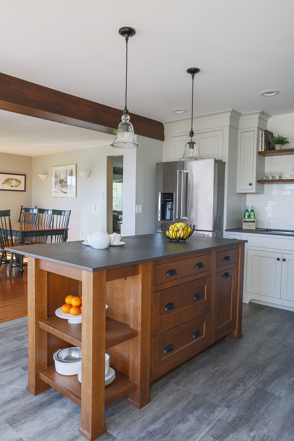 natural elements dining room