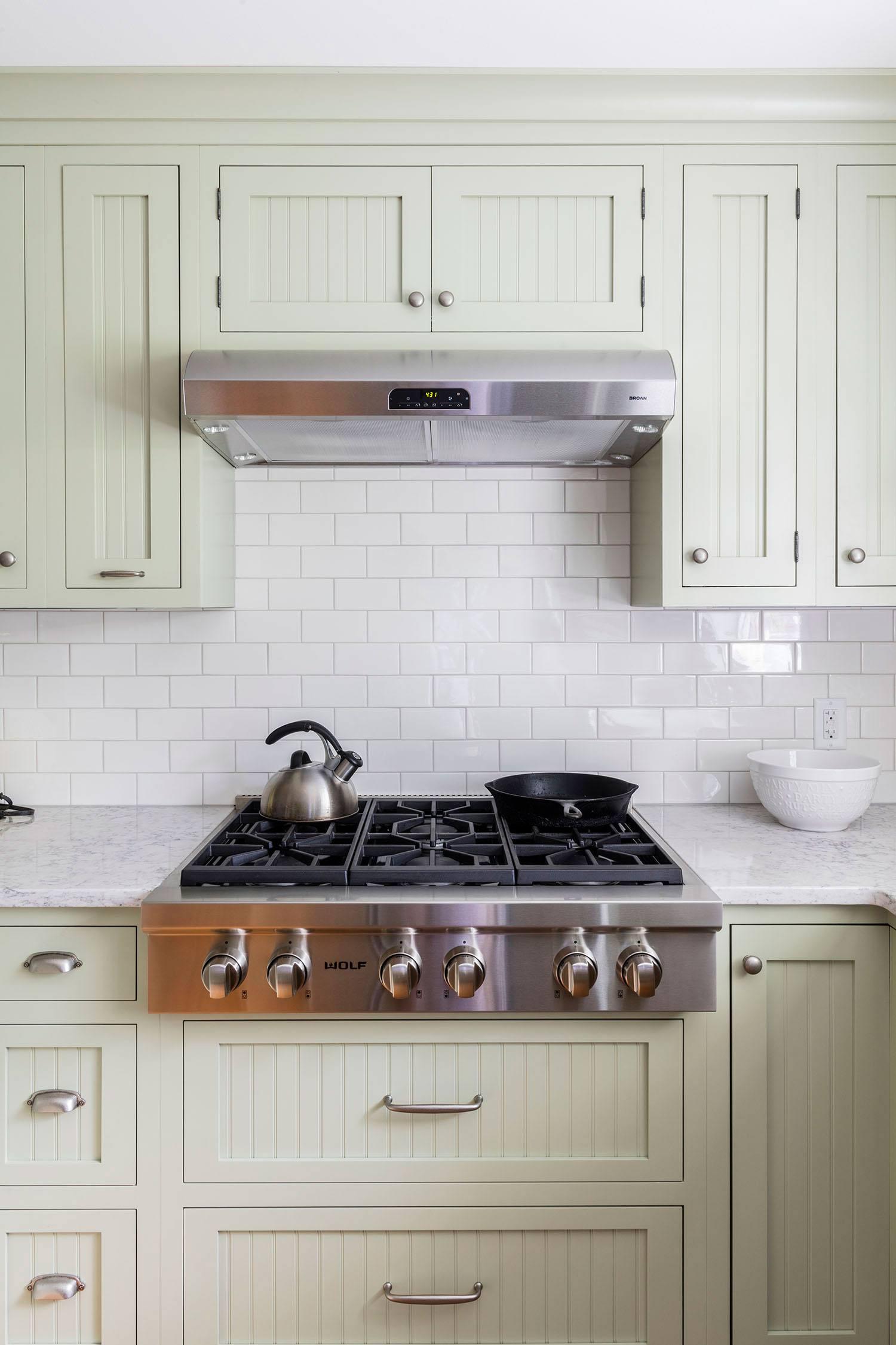 see more modern vintage kitchen