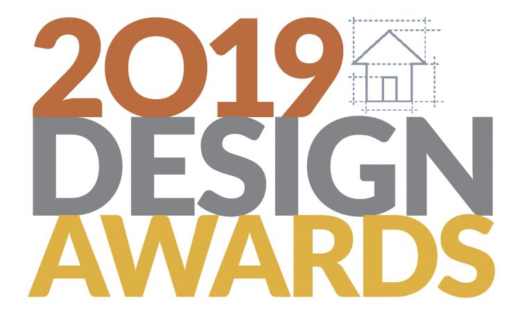 white kitchen with blue island remodeler-design-awards 2019.png