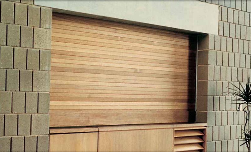 Wood Counter Shutters
