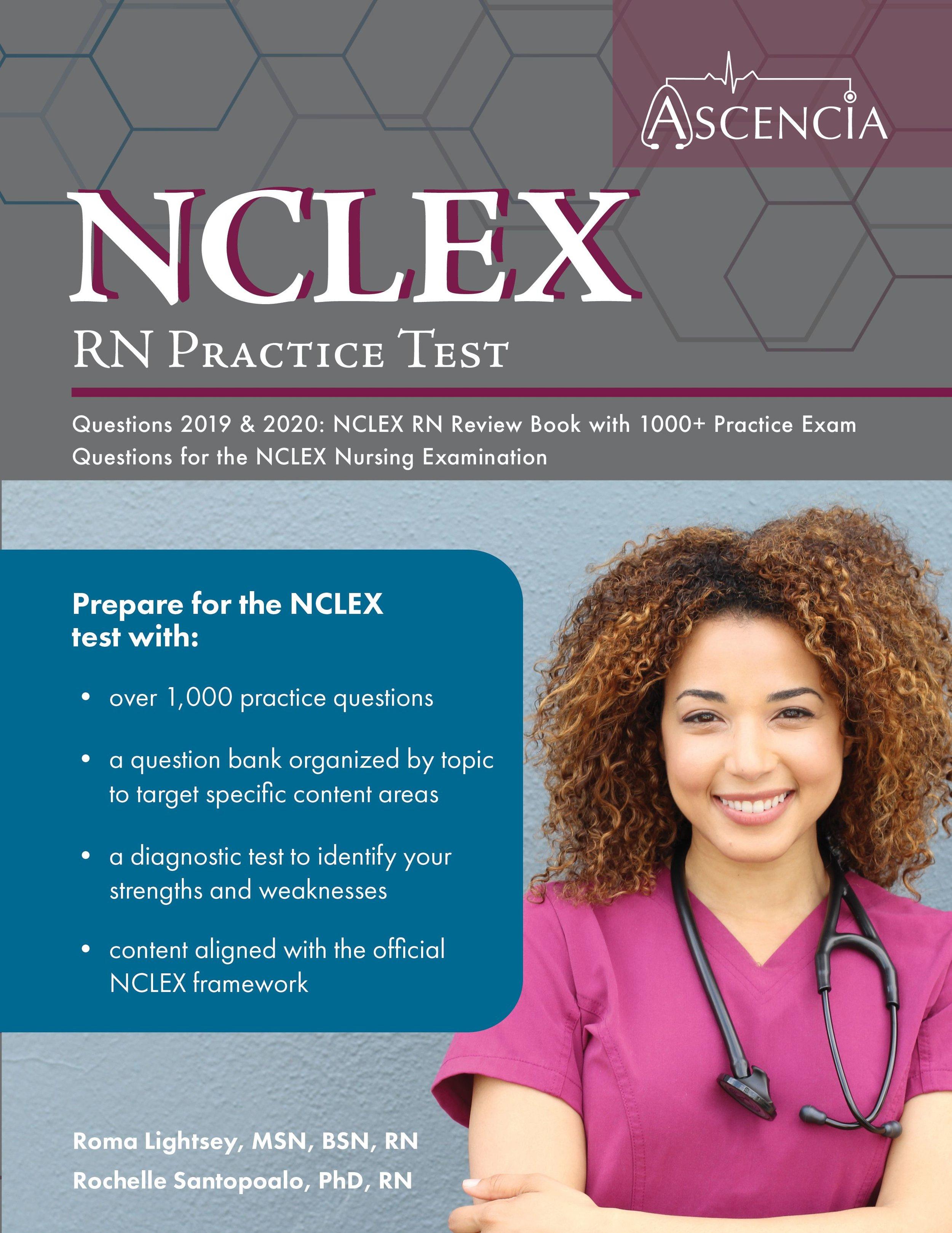 NCLEX-RN Practice Questions 2019 & 2020 — Ascencia Test Prep