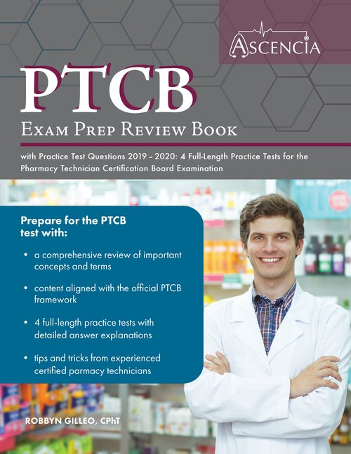 best ptcb study book 2020 PTCB Exam Prep Review Book 2019 2020 — Ascencia Test Prep Study Guides