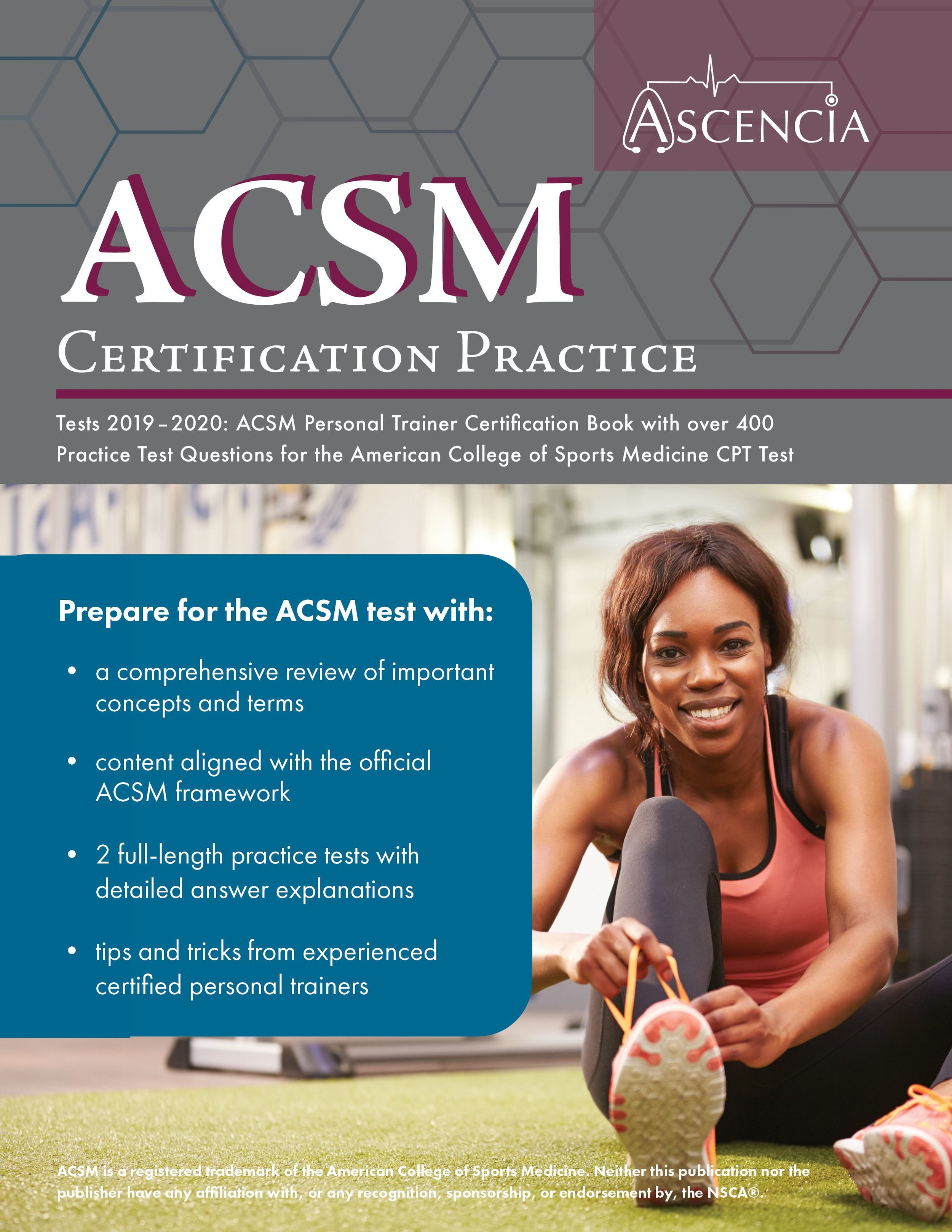 ACSM Test Prep — Ascencia Test Prep Study Guides