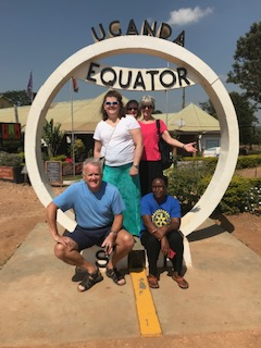 A Stop at the Equator!