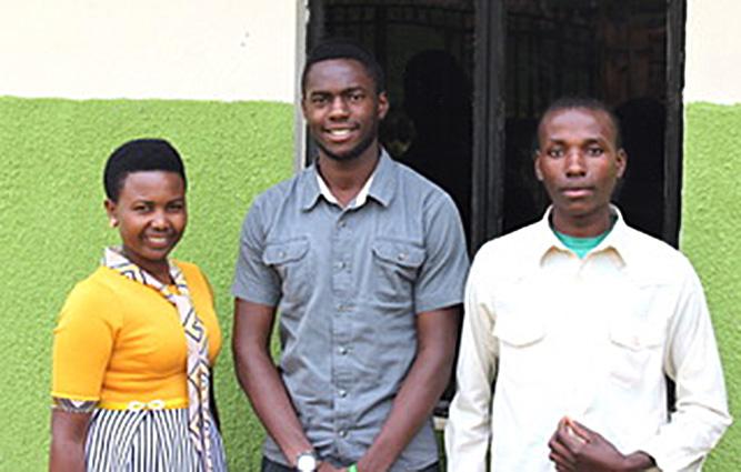 3 Maverick Scholars: Judith, Benson, Isaac
