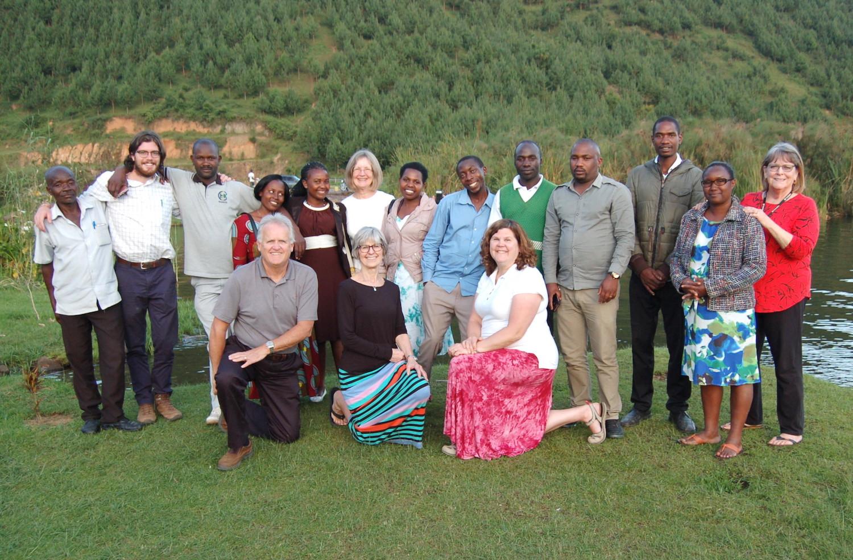 February 2019 Travel Team, ACT Uganda Staff and Will Buckner, Peace Corps Volunteer
