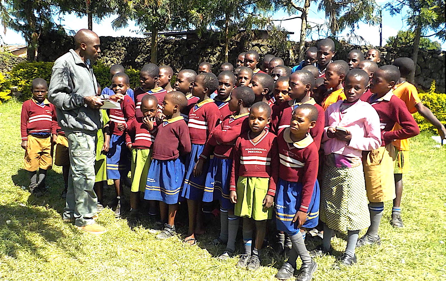Assessing the health status of the ACT MukoHOPE orphans at school.