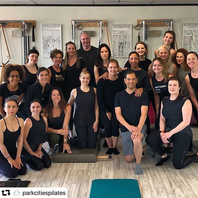 Joe Pilates' work is the same. It's the time studying it, with the perspective and wisdom of our master teachers that reveals new layers every time. ✨💖✨ @cynthialochard_pilates  #repost @parkcitiespilates ・・・ Thank you for the wonderful week of learning Cynthia. We loved every second of you here. #loveallaround #romanaspilates #pilatesbody #pilates