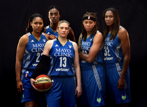Yo what is this?? What team is this?! (The Minnesota Lynx)