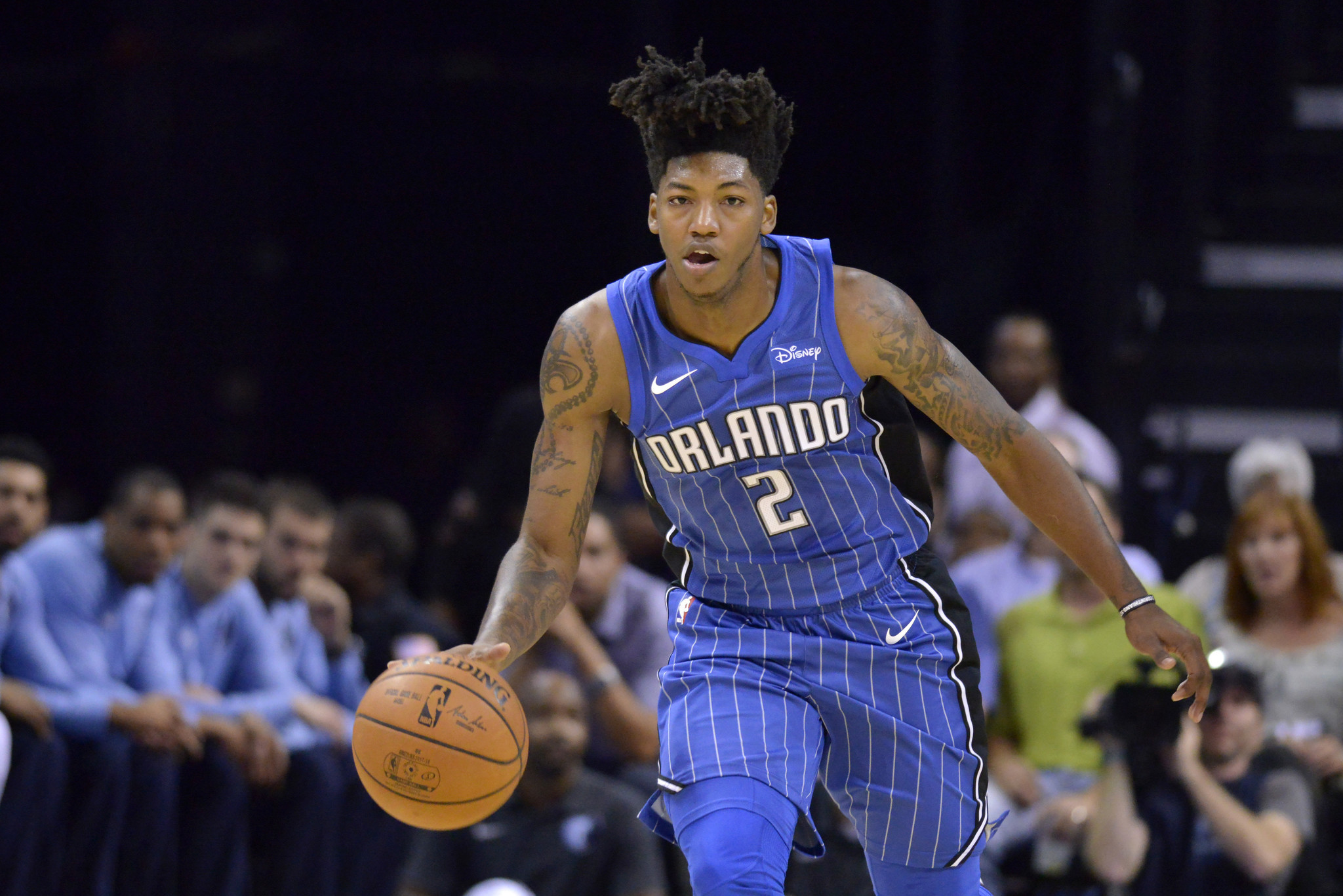 It's magical!  😍😍 (Pictured: Elfrid Payton and his mop ass head)