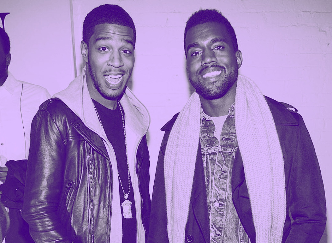 Pictured: Left, Scott Mescudi (Kid Cudi) Right, Kanye West