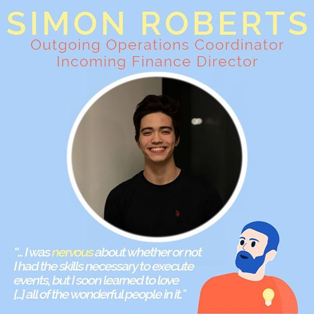 💡 4 DAYS LEFT OF HIRING! 💡 Check out the link in our bio for details! ✏️Simon Roberts 💡Outgoing Operations Specialist 💛Incoming Finance Director 🚀 I had a fantastic experience working with eProjects this past year. When I first interviewed for the team, I was nervous about whether or not I had the skills necessary to execute events, but I soon learned to love the organization and all of the wonderful people in it. Throughout the year I was able to spark many amazing conversations with entrepreneurs and students alike, and I have been so grateful for the opportunities throughout. I'm ecstatic for the year to come! 🚀  Favourite moment? 😯 Post-Red Academy pow!
