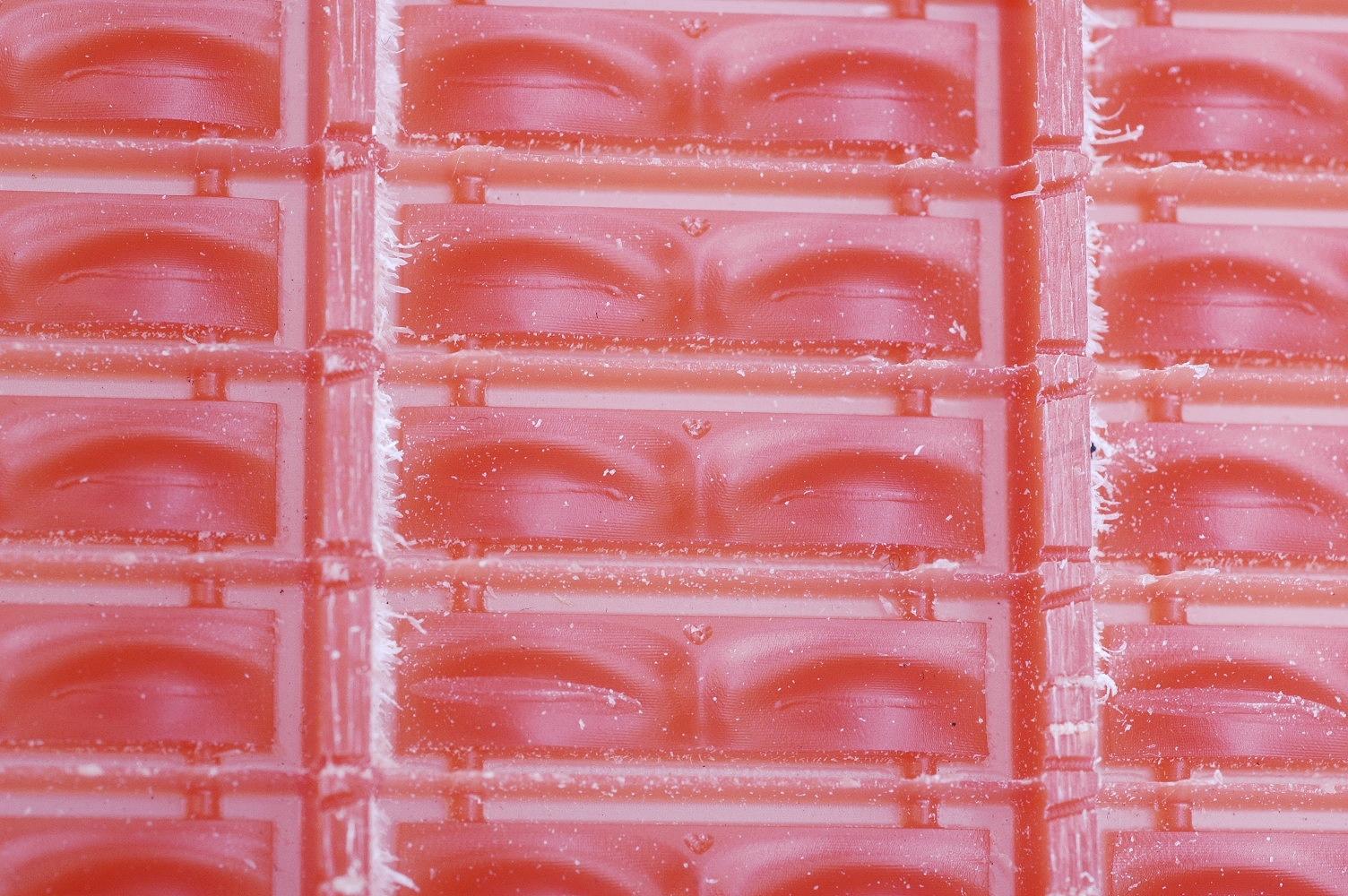 Wax Buddha Eyes closeup