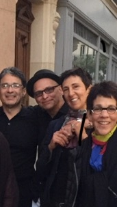 With friends in Paris during the AJDC retreat