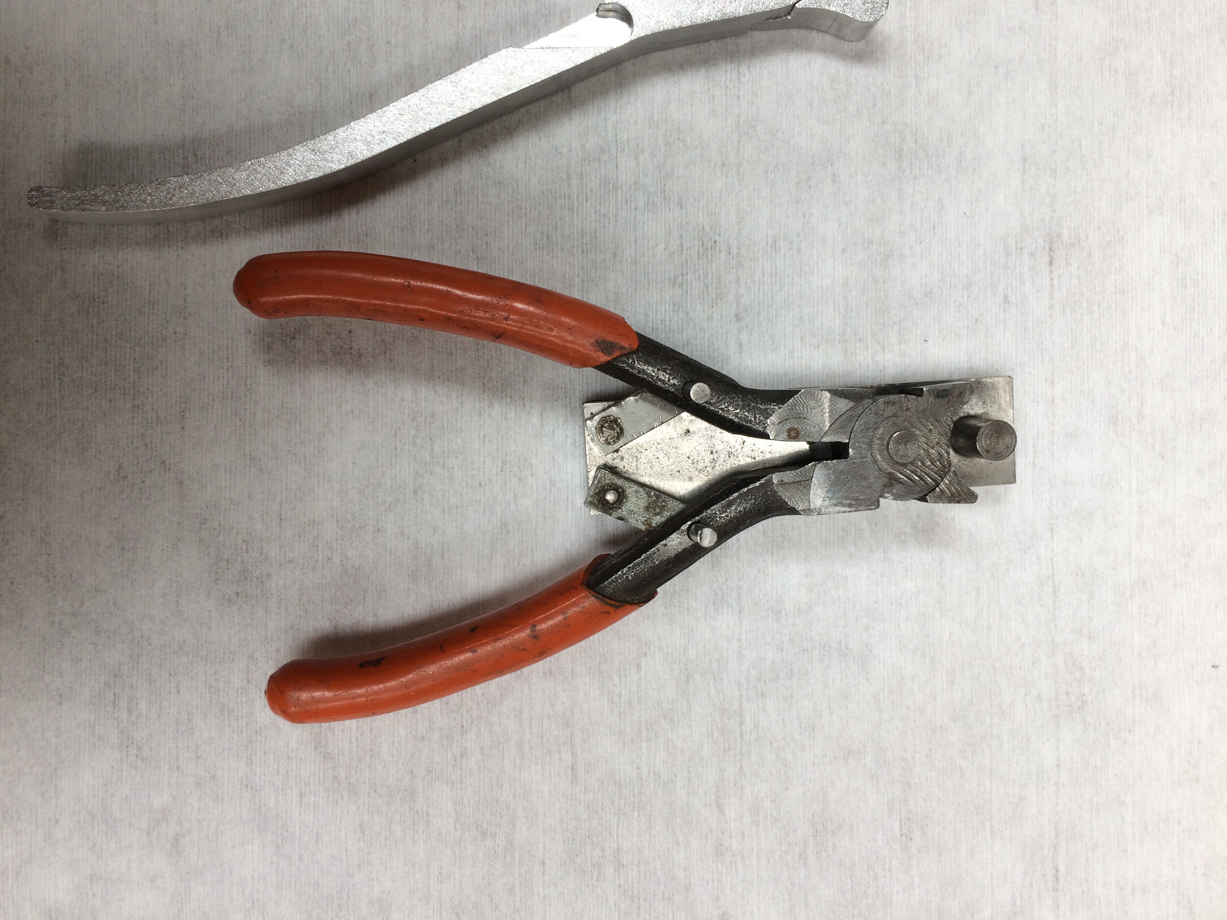 The inspiration was this converted plier