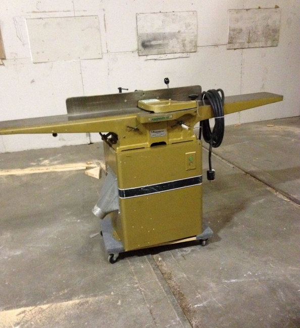 A Three Phase Powermatic Jointer