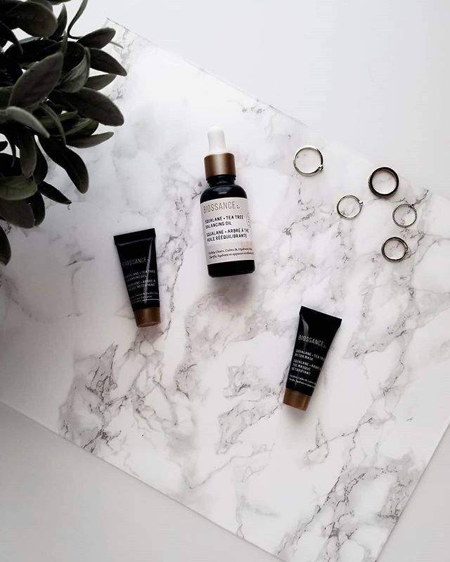 Biossance new tea tree line is the bomb!!! Especially the Squalane & Tea Tree Balancing Oil!! My skin has been literally glowing. #BiossanceXInfluenster #contest #complimentary @Biossance @Influenster