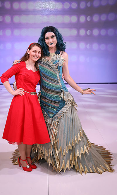 2018 Judge's Winner  Cynthia Kirkland   The Couture of Water:  The Shape of Water