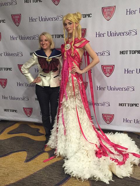 2015 Audience Winner  Leetal Platt   Usagi's Transformation:  Sailor Moon