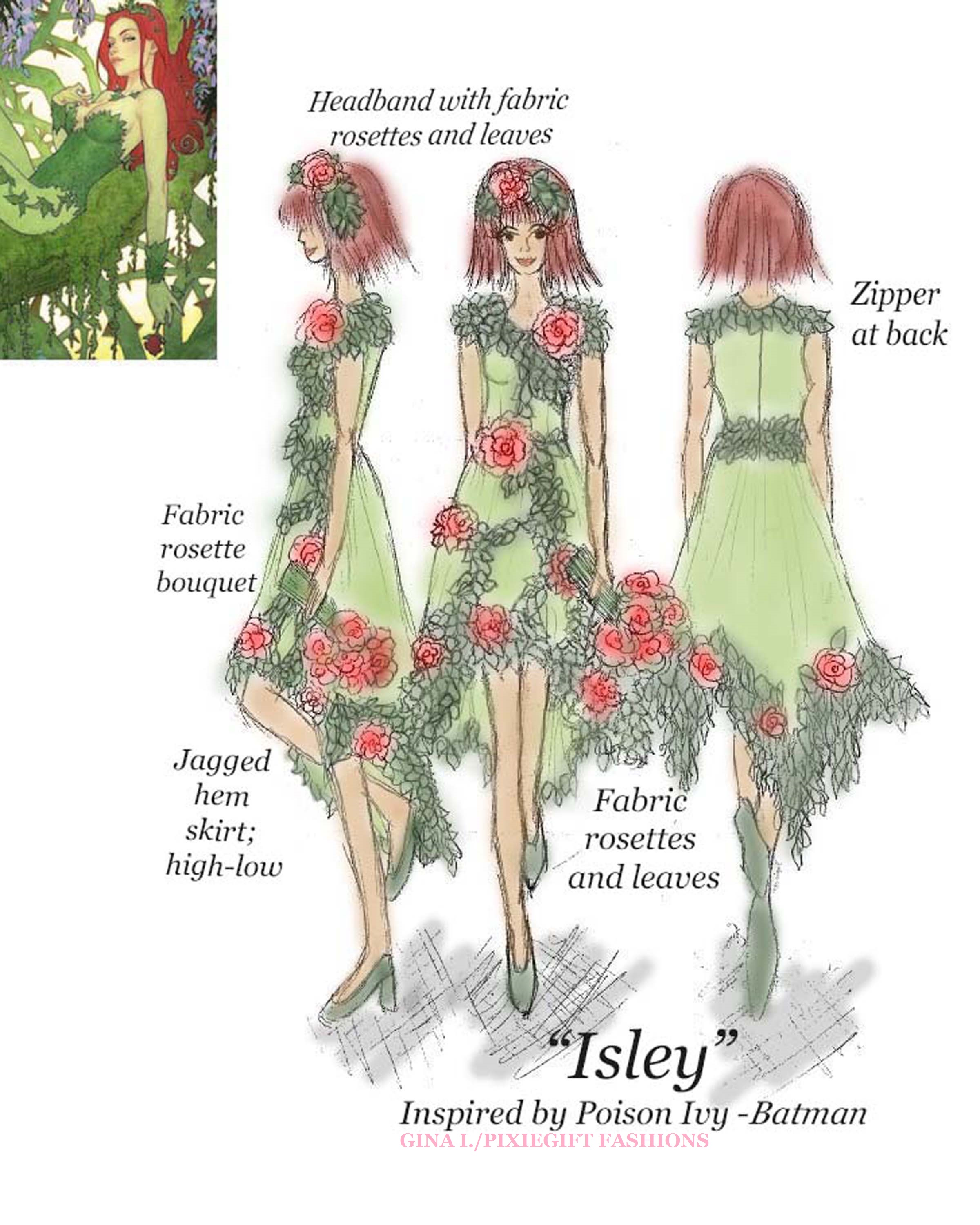 Isley inspired by Poison Ivy - Batman by Pixiegift Fashions