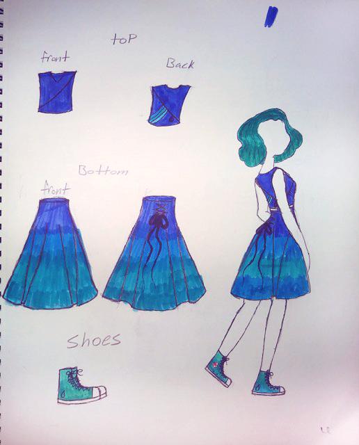 Junior Designer Kaylea M.'s Stephen Universe design