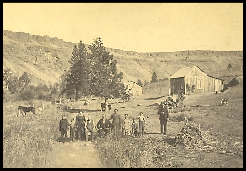 """The windy music of pines and river""—Palouse Colony Litzenberger-Repp Farmstead, c. 1890"