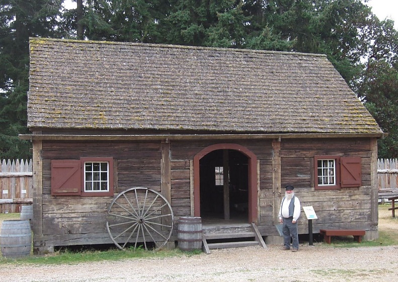 Ft. Nisqually Granary (est. 1850)