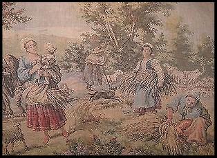 The Gleaners Tapestry (Belgium, c. 1950)