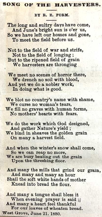 1925 Scrapbook of Country Poems Fragement (Vol 2, Winter 1925, Private Collection)
