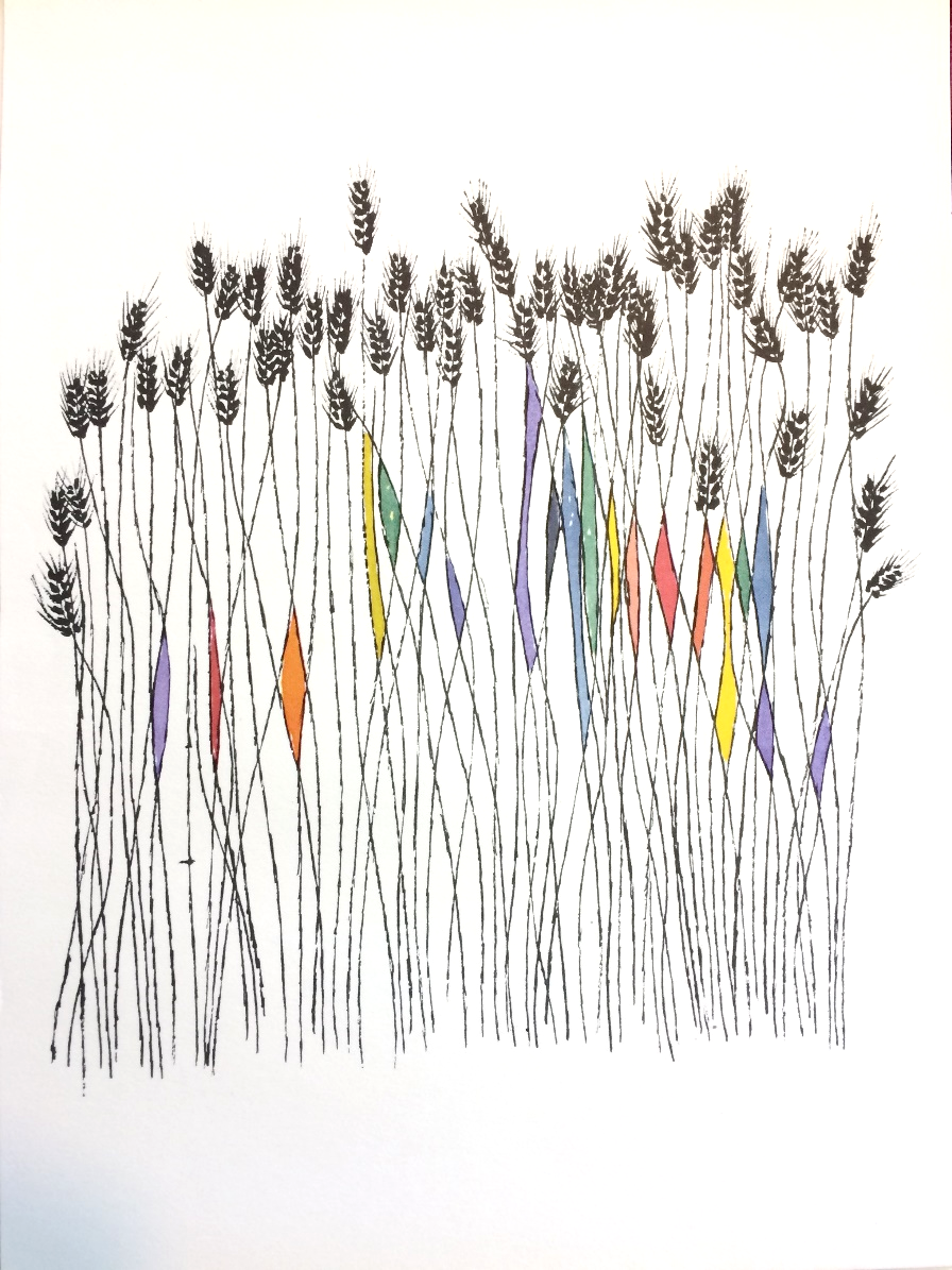 Ben Shahn,  Wheat Field—Ecclesiastes  (1967);    Ecclesiastes Or, The Preacher    (Paris, 1967)