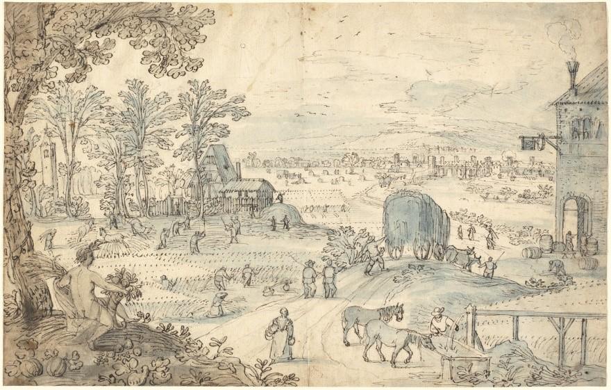 Lodewijk Toeput, Summer Harvest (c. 1590), National Archives